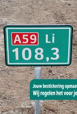 Ri-Traffic | Hectometerborden / Afstandspalen / Hectometerpalen