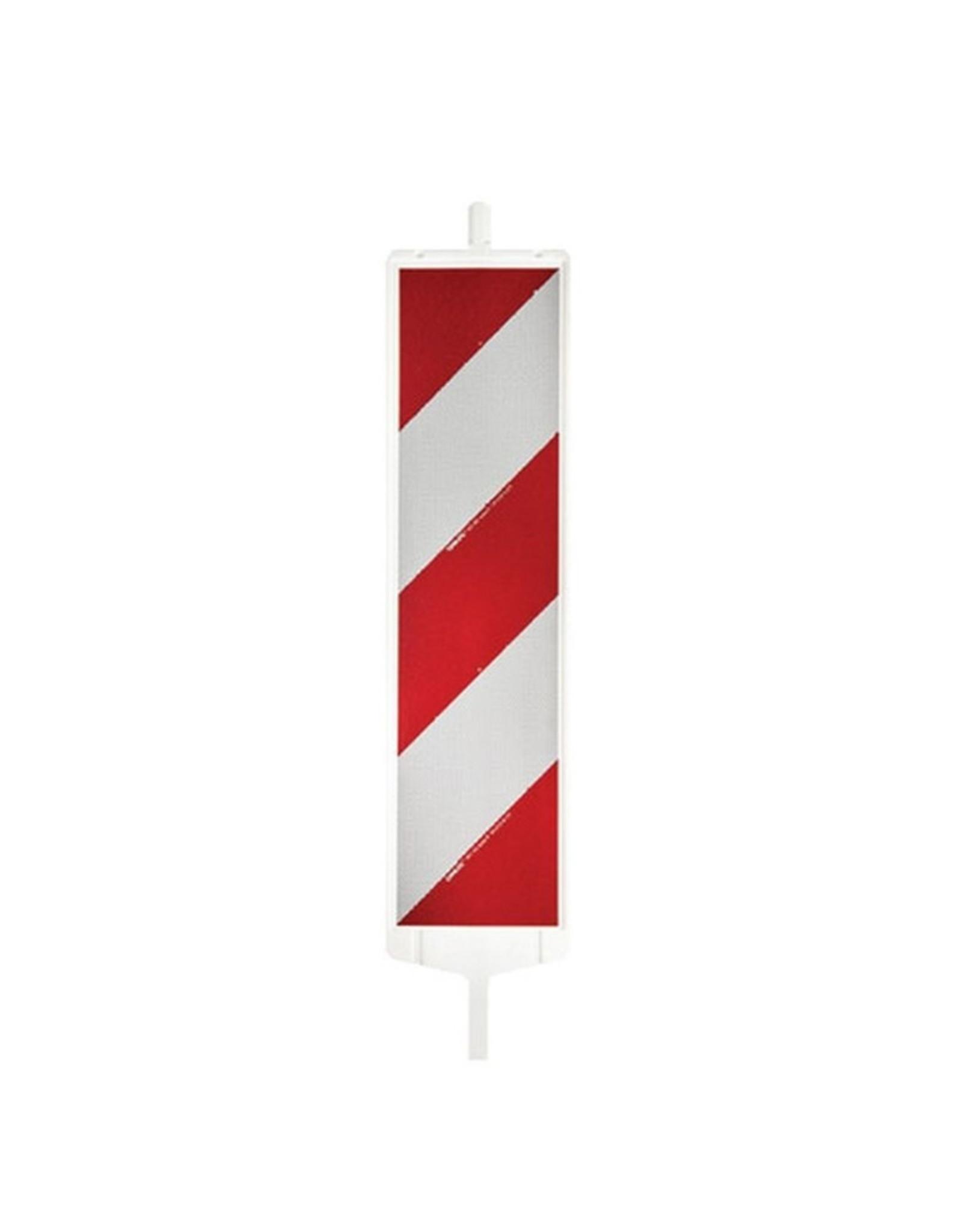 Verkeerswinkel.nl | Complete geleidebaken met Schild, Voet + Lamp