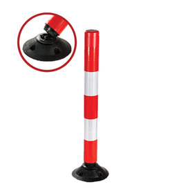 Ri-Traffic | Flexpin 100cm Flexibele Afzetpaal