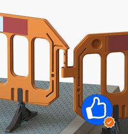 Ri-Traffic | Afzethek 200 cm x 100 cm - Oranje