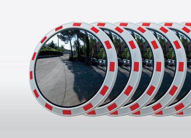 Ronde Verkeersspiegels