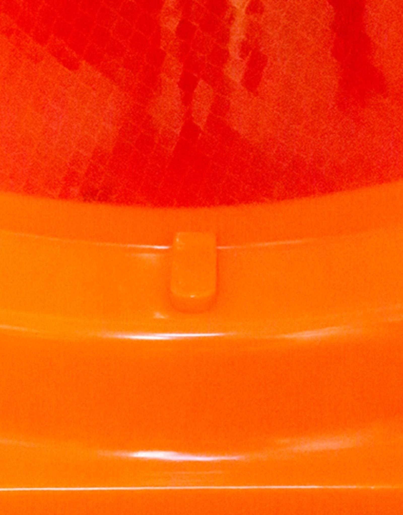 Molan | Eendelige verkeerskegel 75cm hoog, klasse 2 folie, reflecterend