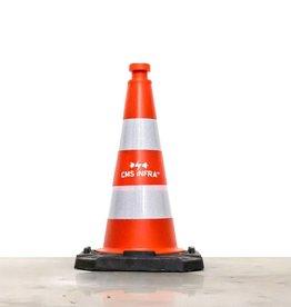Ri-Traffic | Verkeerskegel 50 cm met Bedrijfslogo