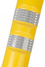 Ri-Traffic | Kunststof Plooibakens Geel 75 cm met Retroreflecterie