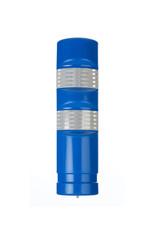 Ri-Traffic   Kunststof Plooibakens Blauw 75 cm met Retroreflecterie