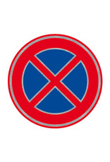 Ri-Traffic    Verkeersbord: Verboden Stil te Staan ( Verkeersbord RVV E02)