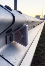 Ri-Traffic | Vangrail reflector wit-wit voor geleiderails