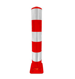 Ri-Traffic | Flexpaal Verkeerszuil BB21 - ROOD