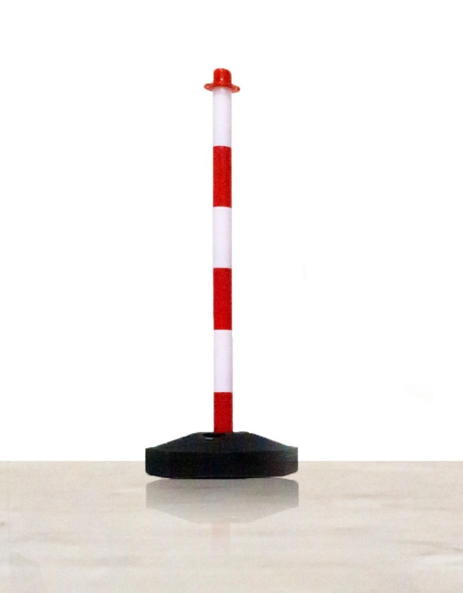 Ri-Traffic | Kettingpalen Set 6 stuks, 12 stuks & 24 stuks (rood-wit)