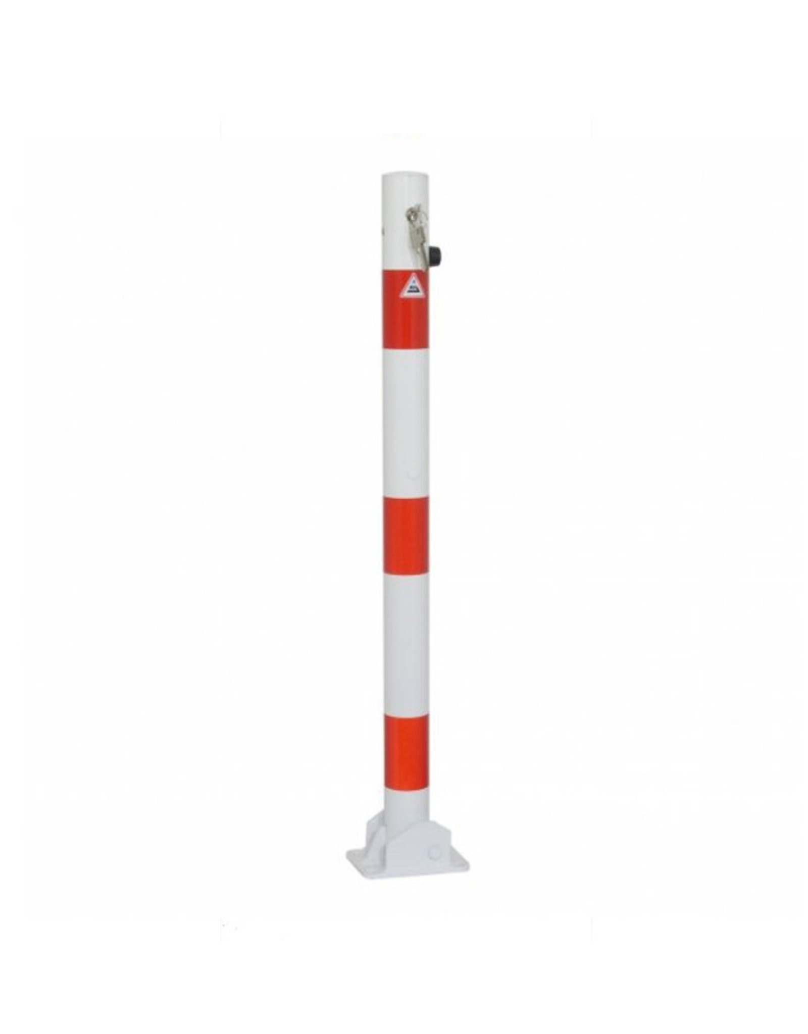 Ri-Traffic | Parkeerpaal klapbaar / neerklapbaar met cilinderslot