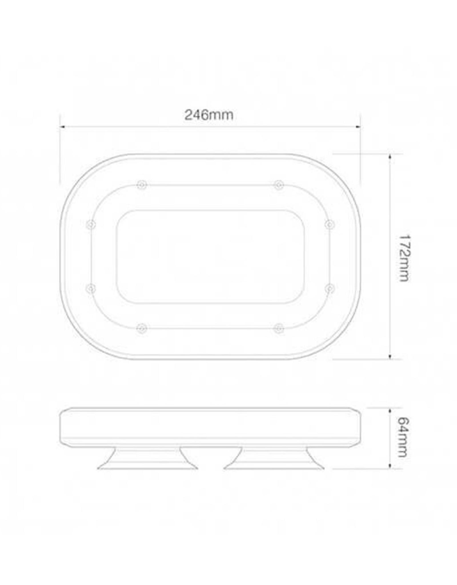 ElectraQuip | Zwaaibalk lamp/verlichting LED magneet (R65 minibar)