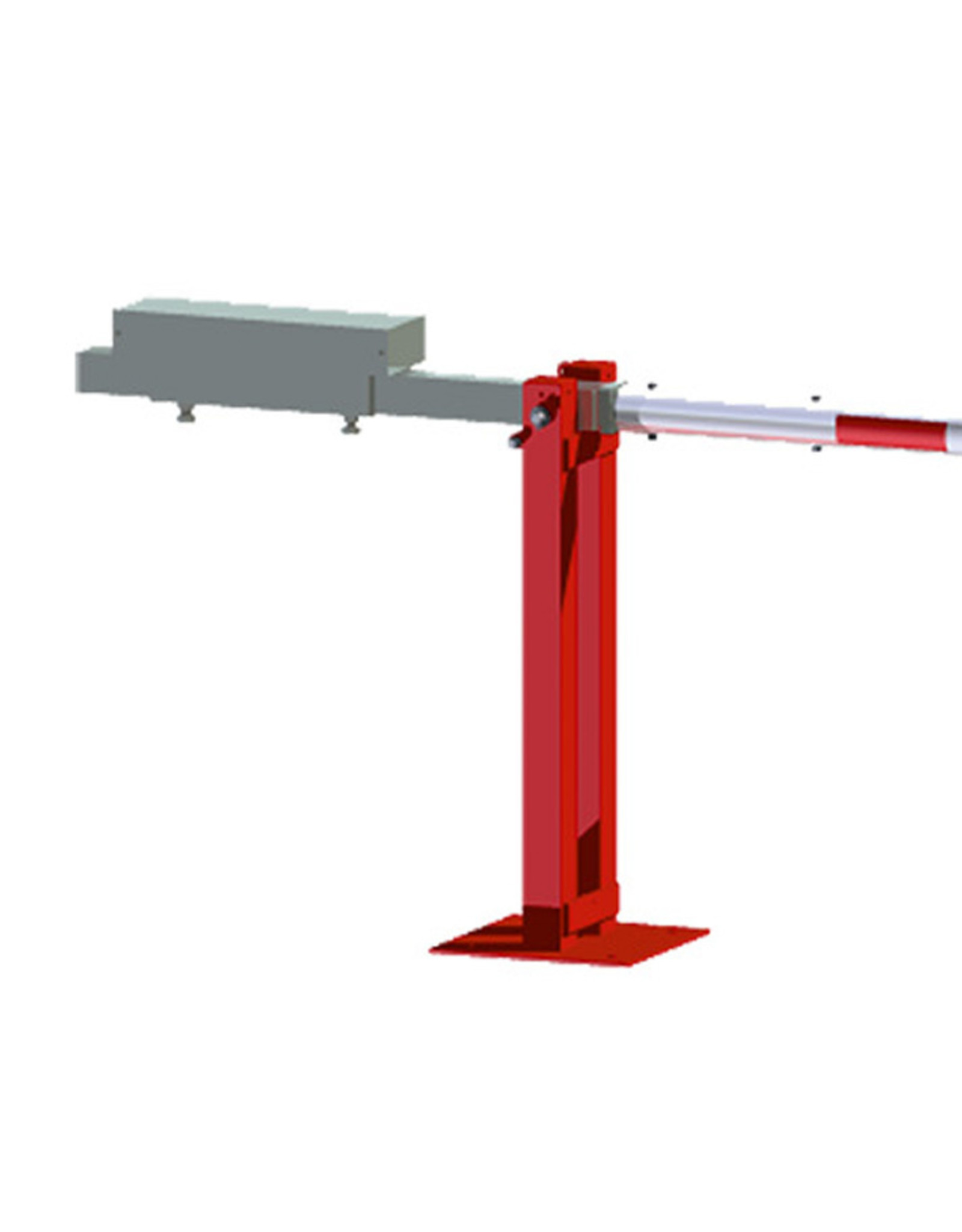 Verkeerswinkel | Slagboom 300 cm tot 700 cm, incl. Staander, Contragewicht en Hangslot