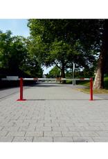 Verkeerswinkel.nl   Slagboom 300 cm tot 700 cm, incl. Staander, Contragewicht en Driekantslot