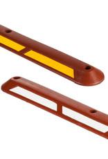 Ri-Traffic | Scheidingsband Fietspad ROOD - 100 cm