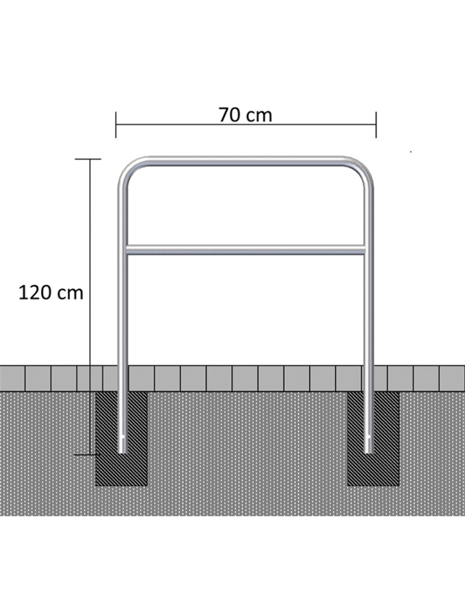 Ri-Traffic | Sluishekken Staal Gegalvaniseerd 70 cm x 120 cm