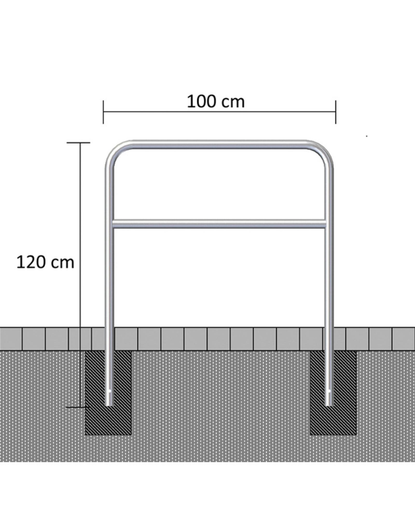 Ri-Traffic | Sluishekken Staal Gegalvaniseerd 100 cm x 120 cm