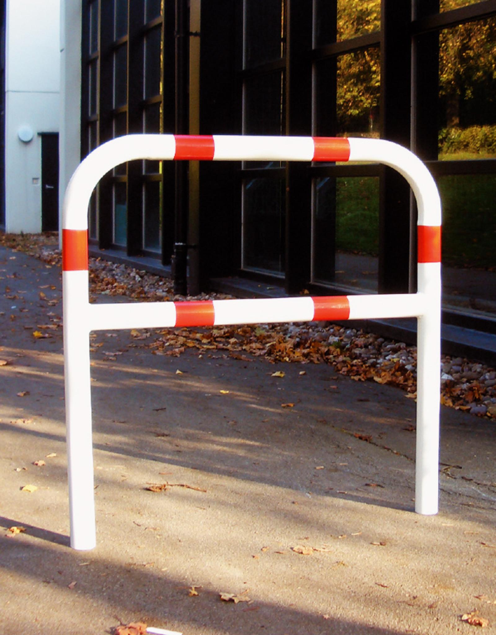 Ri-Traffic | Fietssluis Staal, Rood-Wit, 150 cm x 140 cm