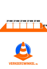 Ri-Traffic   Kabelbrug 5 Kanalen / Kabelgoot, Rubber, Zwart-Geel
