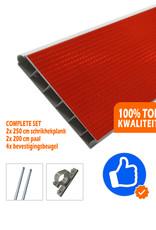 Verkeerswinkel   Compleet Schrikhek 250 cm incl. alle materialen
