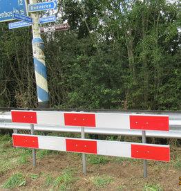 Verkeerswinkel | Schrikhekplanken 250 cm (complete schrikhek)