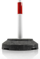 Ri-Traffic | Kettingpaal Staal Rood/Wit met Verzwaarde Voet