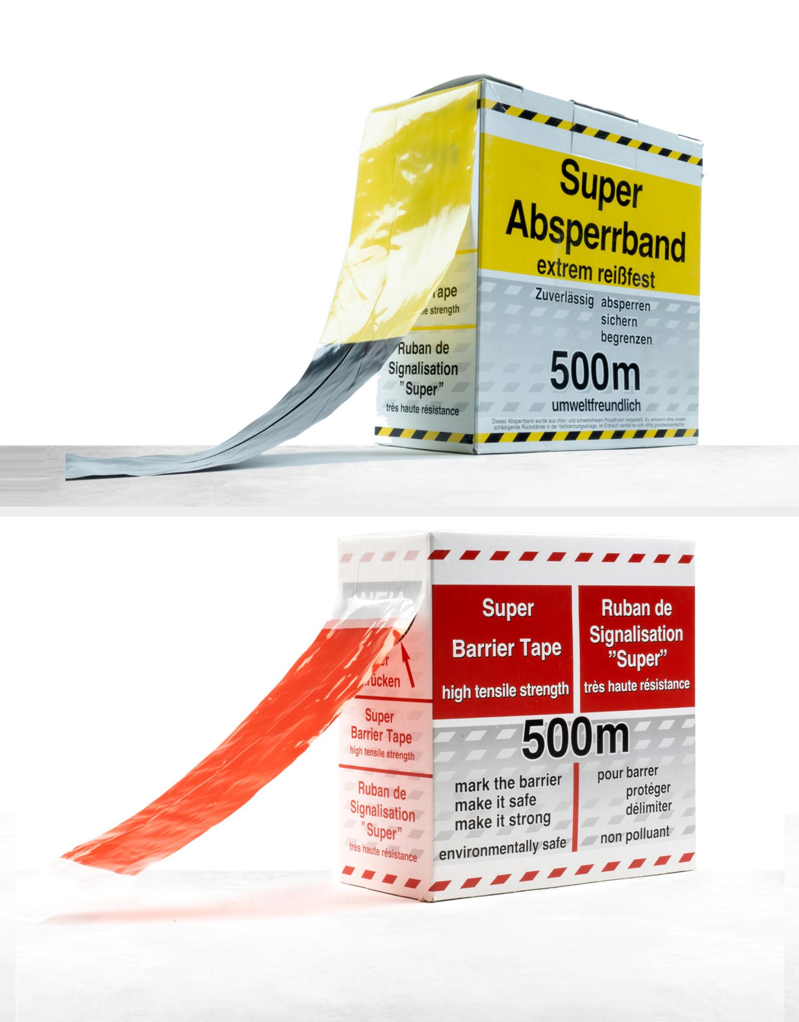 Ri-Traffic   Plastic afzetlint / markeringslint op rol van 500 meter