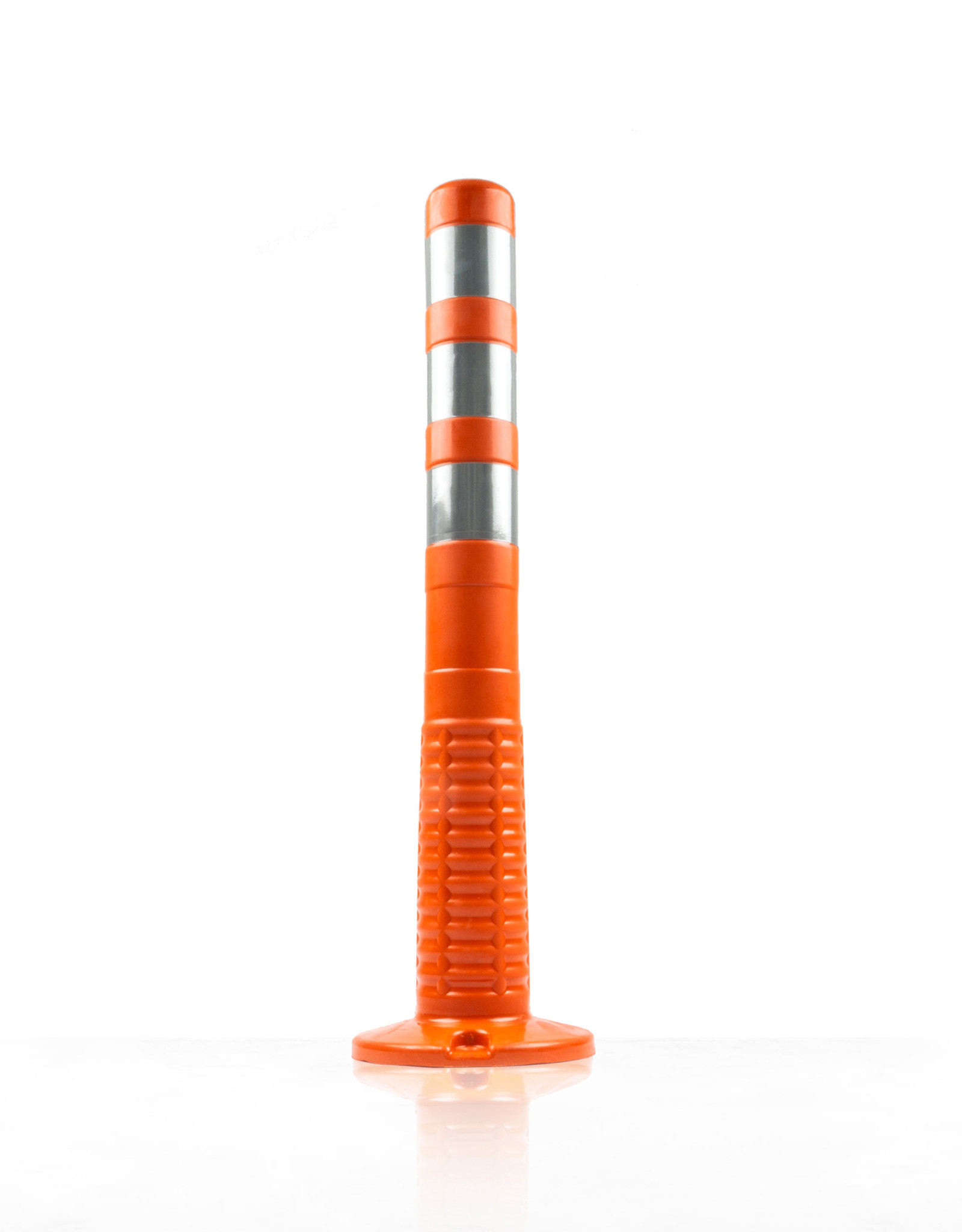 Ri-Traffic   Flexibele afzetpaal oranje, T-FLEX 75 cm plooibaken