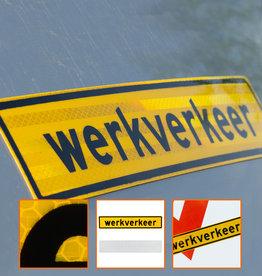Ri-Traffic | Werkverkeer Sticker Auto