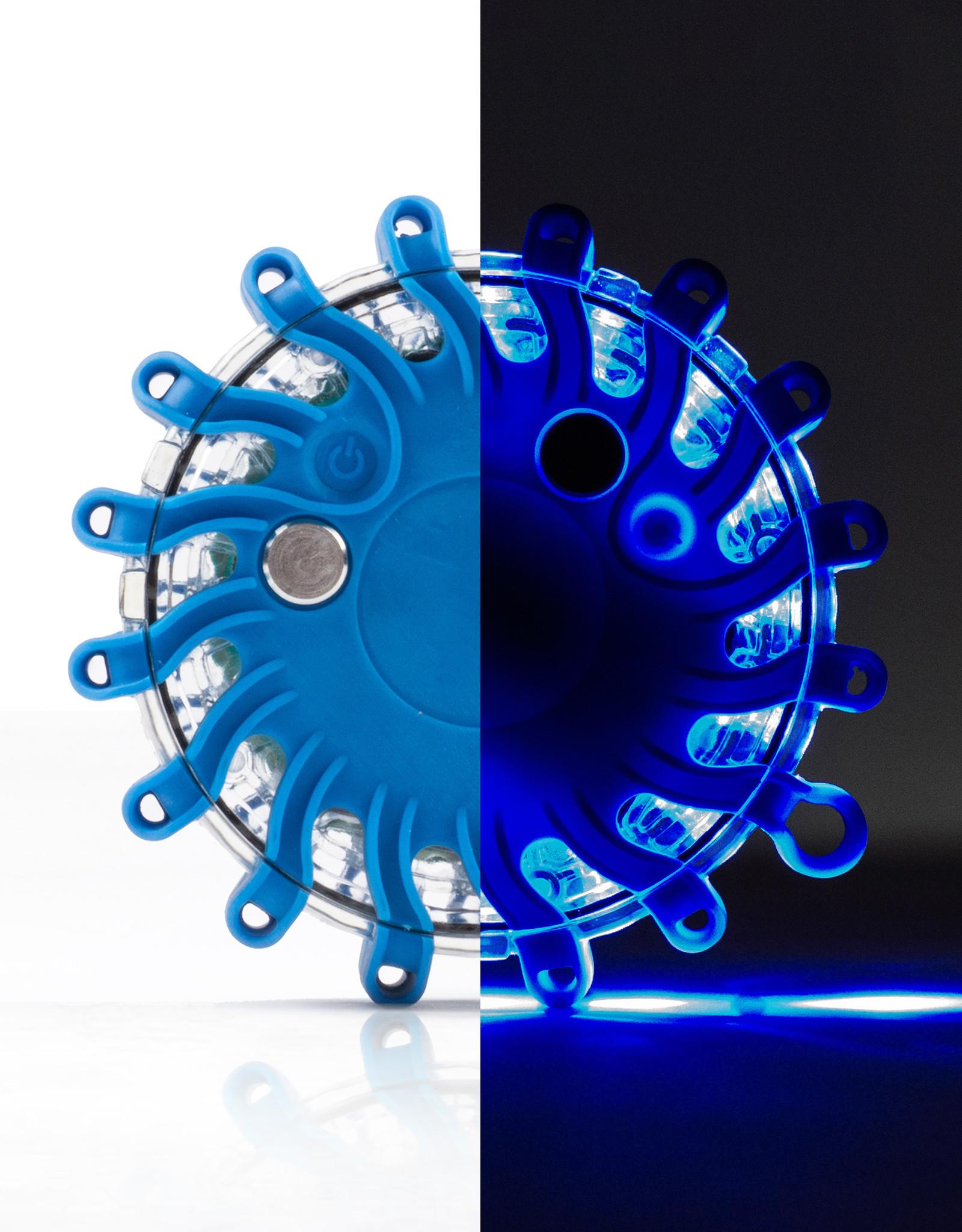 Ri-Traffic | Megaflares Blauw, set van 6 stuks (incl. koffer)