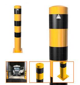 Ri-Traffic | Afzetpaal Staal Geel-Zwart 100cm