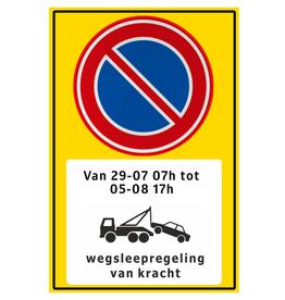 Ri-Traffic | Verkeersbord tijdelijk parkeerverbod