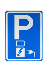 Verkeerswinkel   Bord Elektrisch Oplaadpunt