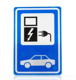 Verkeerswinkel | Verkeersbord Oplaadpunt Elektrische Auto