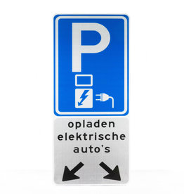 Verkeerswinkel | Opladen Elektrische Auto's Parkeerbord