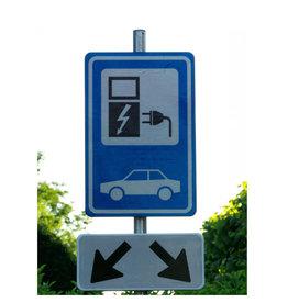 Verkeerswinkel | Parkeerbord Oplaadpunt Elektrische Auto