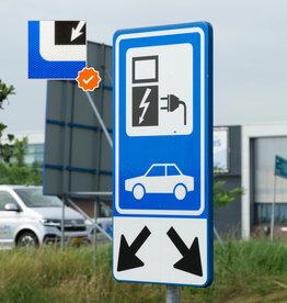 Verkeerswinkel | Oplaadpunt Verkeersbord Elektrisch Laden