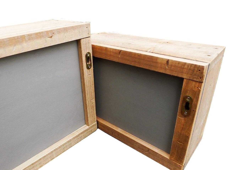 home deco old dutch wall box mirror set-2
