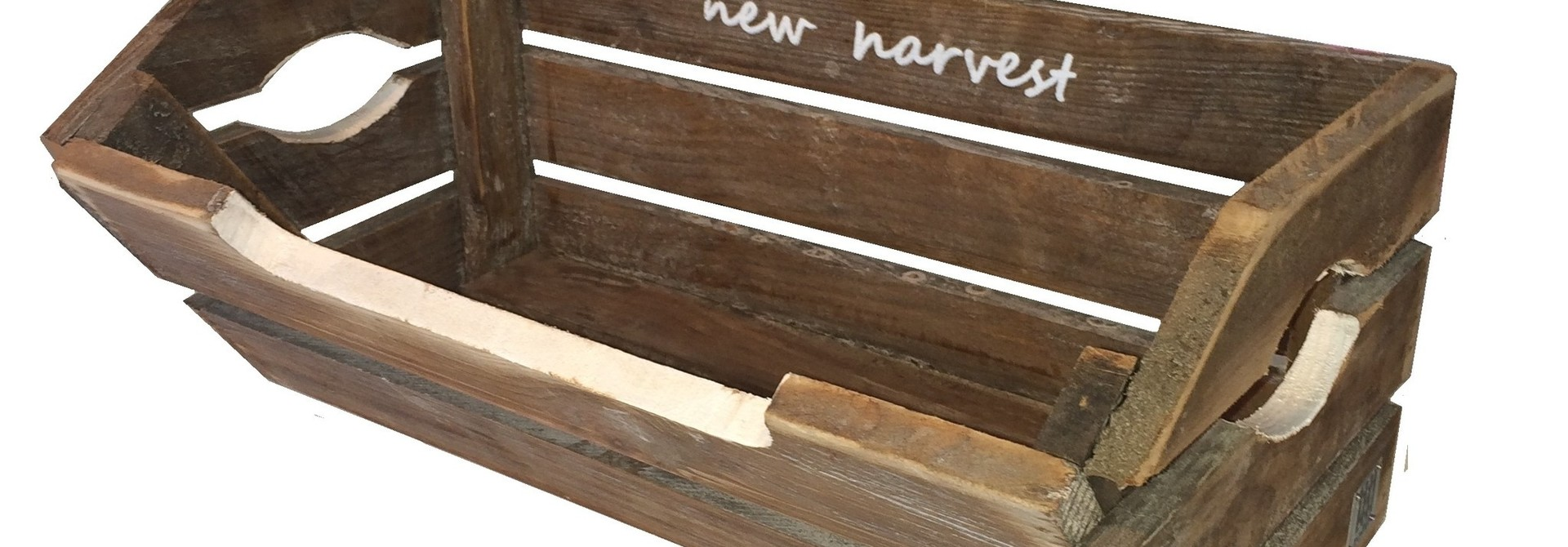 home deco brussels brown harvest crate T