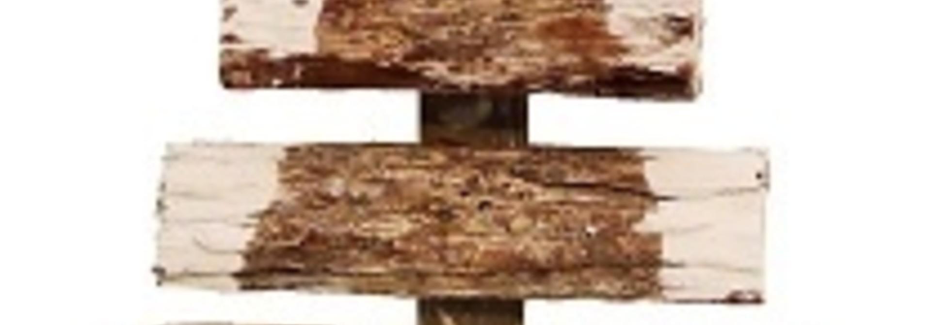 xmas bark tree double 44