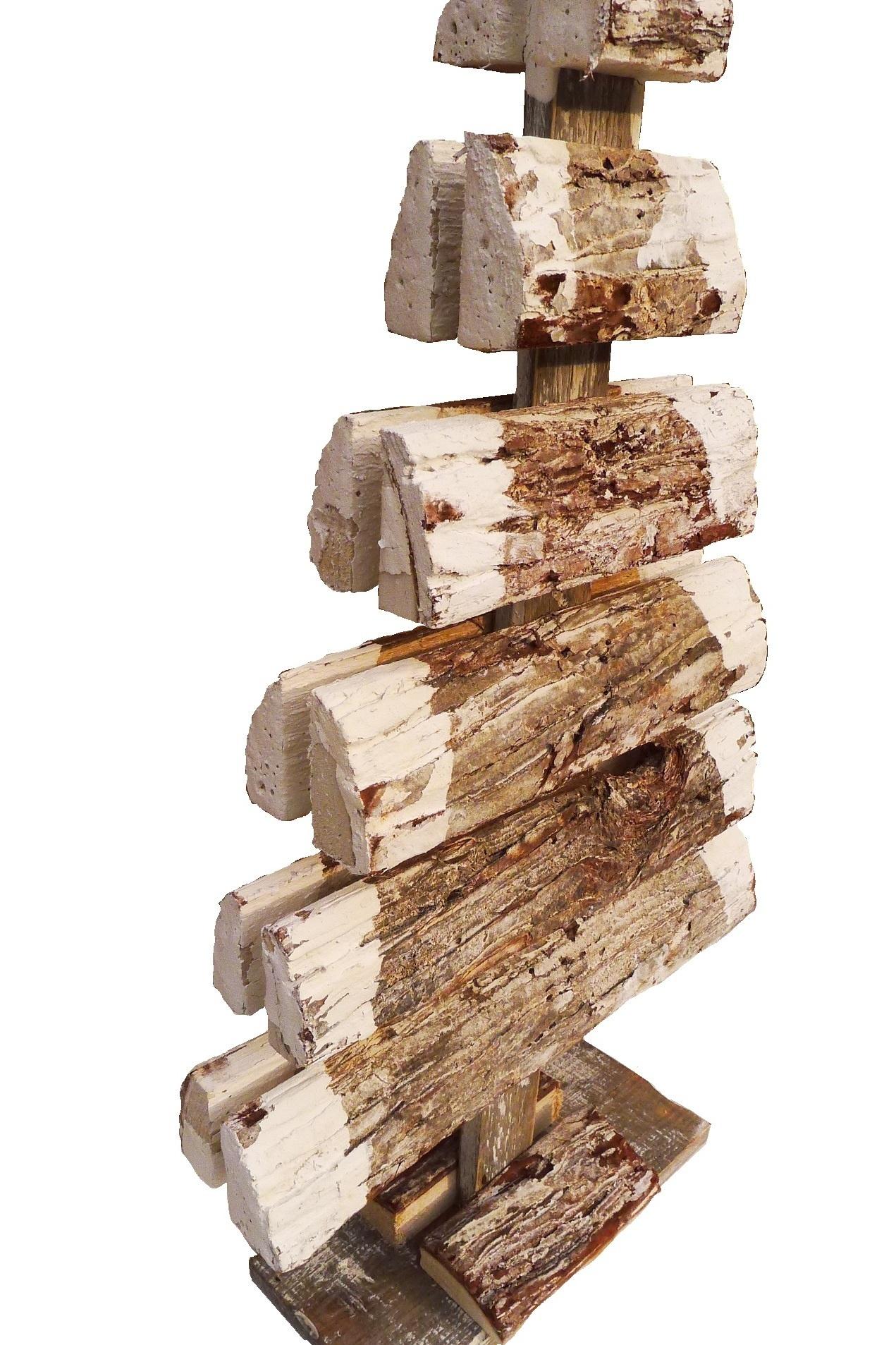xmas bark tree double 52-3