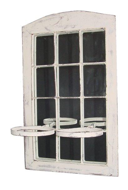 Spiegel mit blumentopfhalter