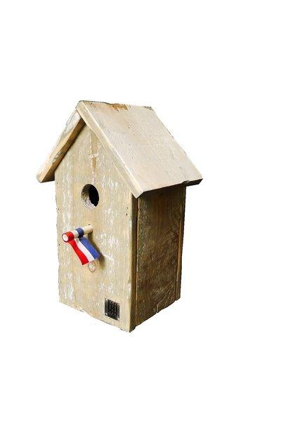 vogelhuisje puntdak