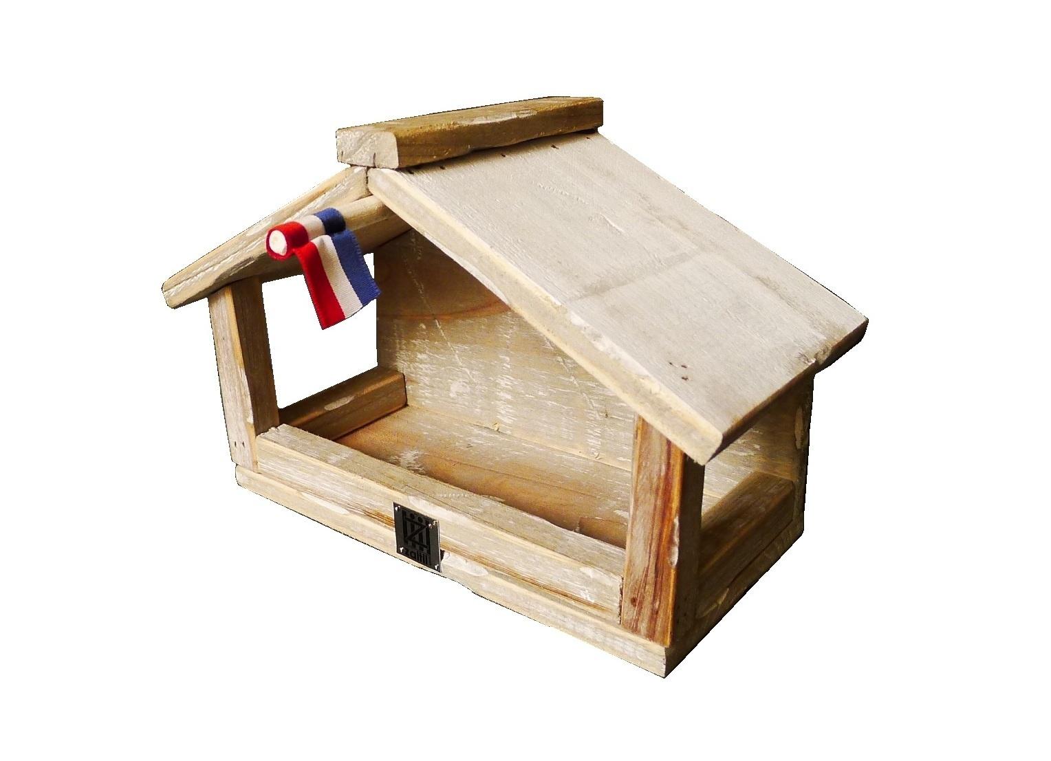 birdhouse old dutch StB wall feeder-1