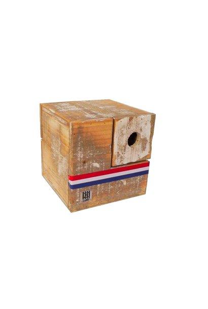vogelhuisje kubus