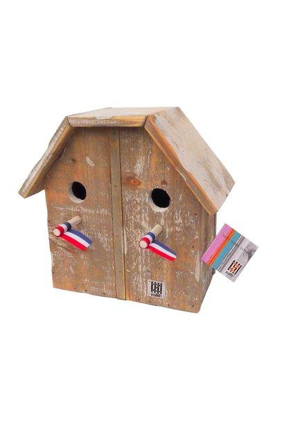 Vogelhäuschen 2/1 dach