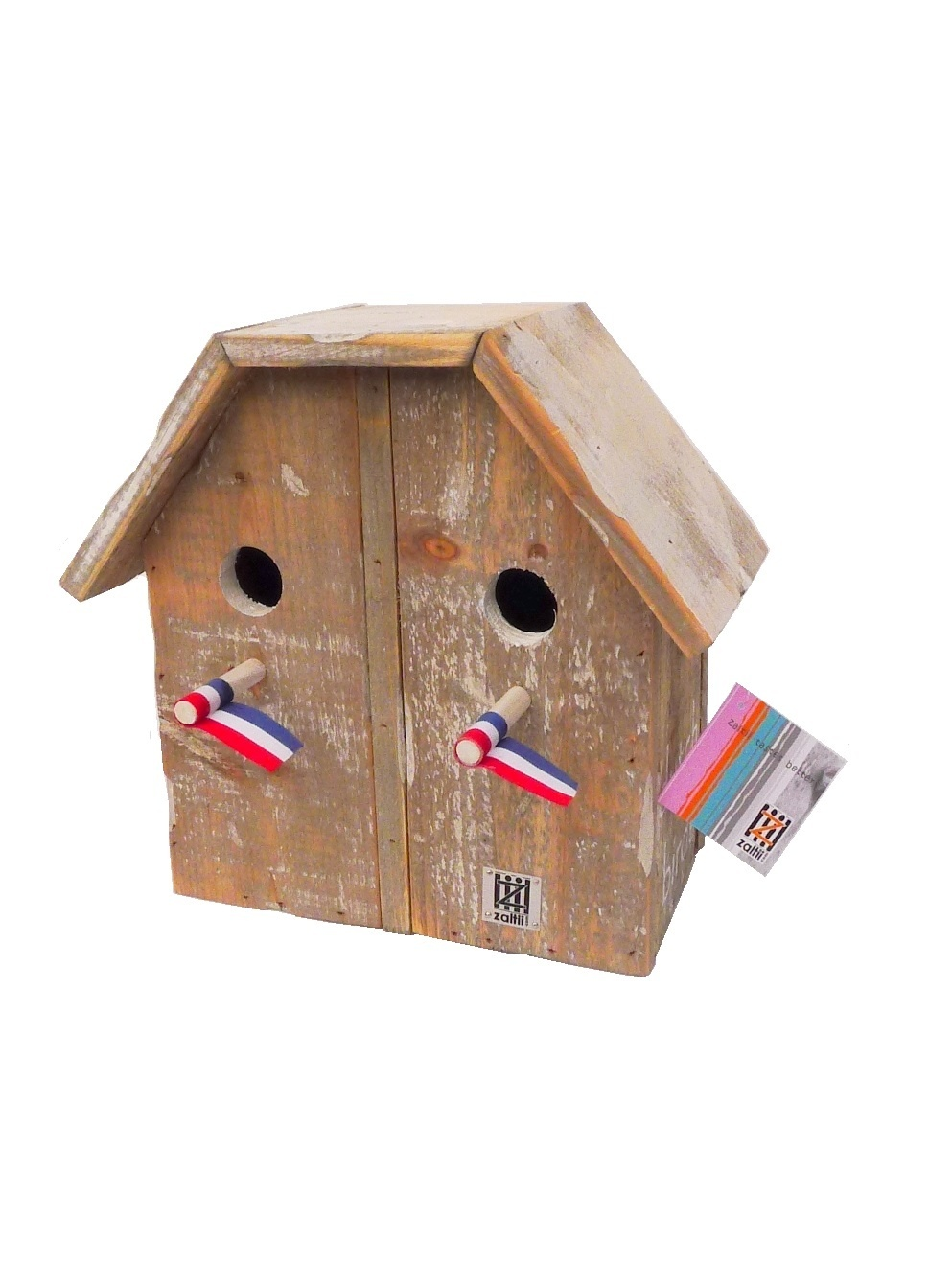birdhouse old dutch 2 under 1 roof-1