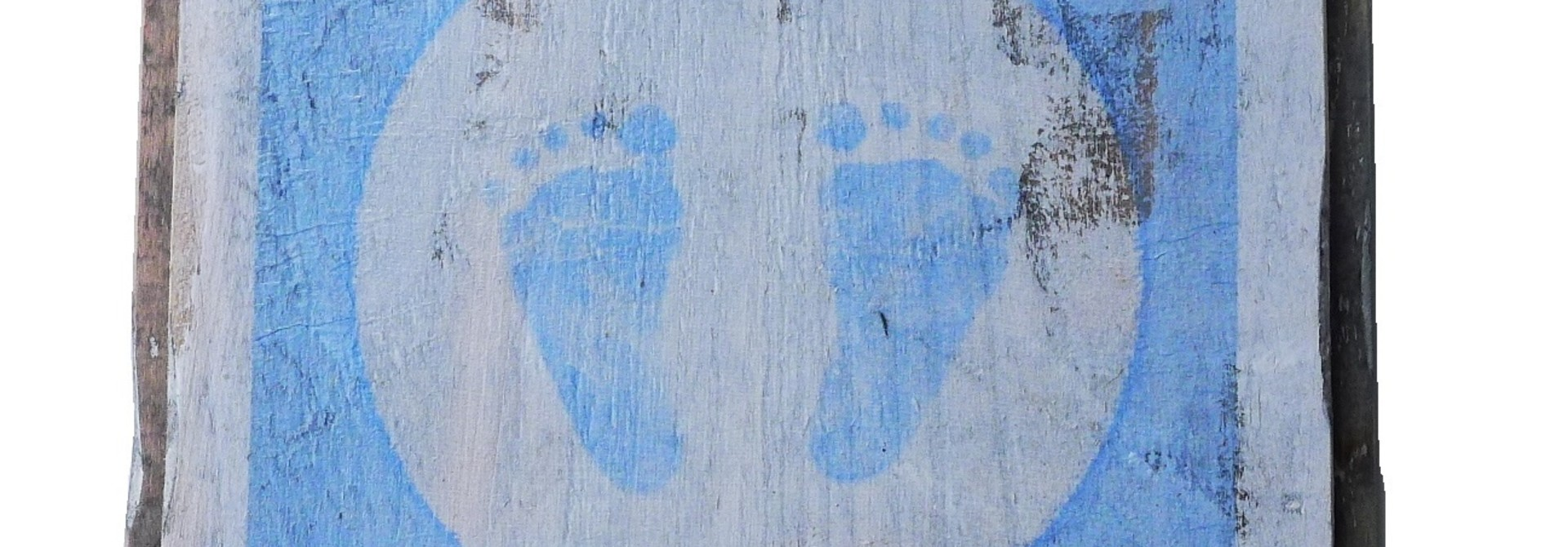 wooden tile old dutch  blue feet out