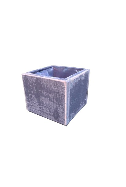 Wooden pot square