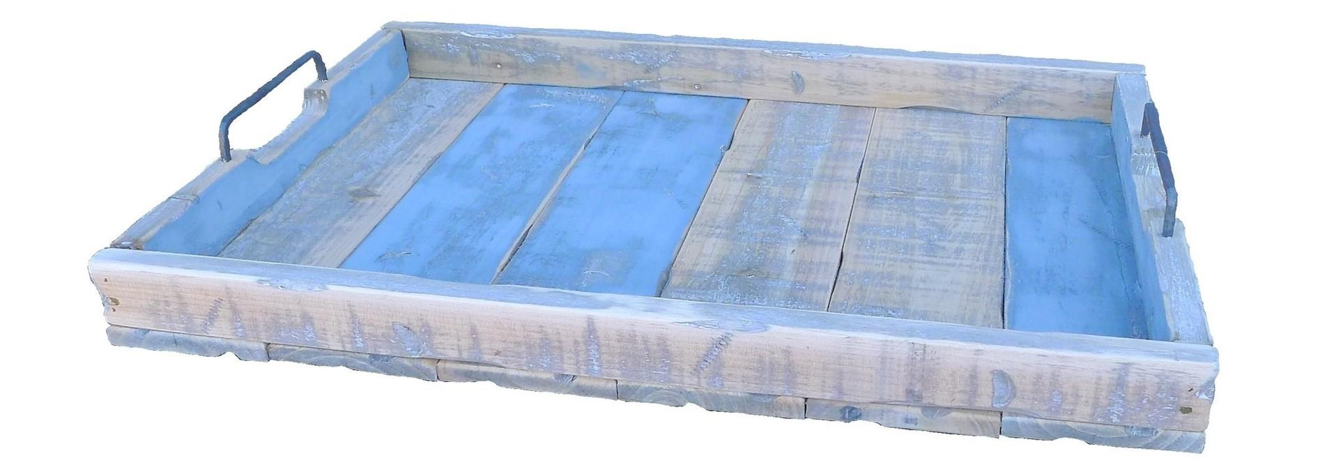tray old dutch marianne 58/38 blue