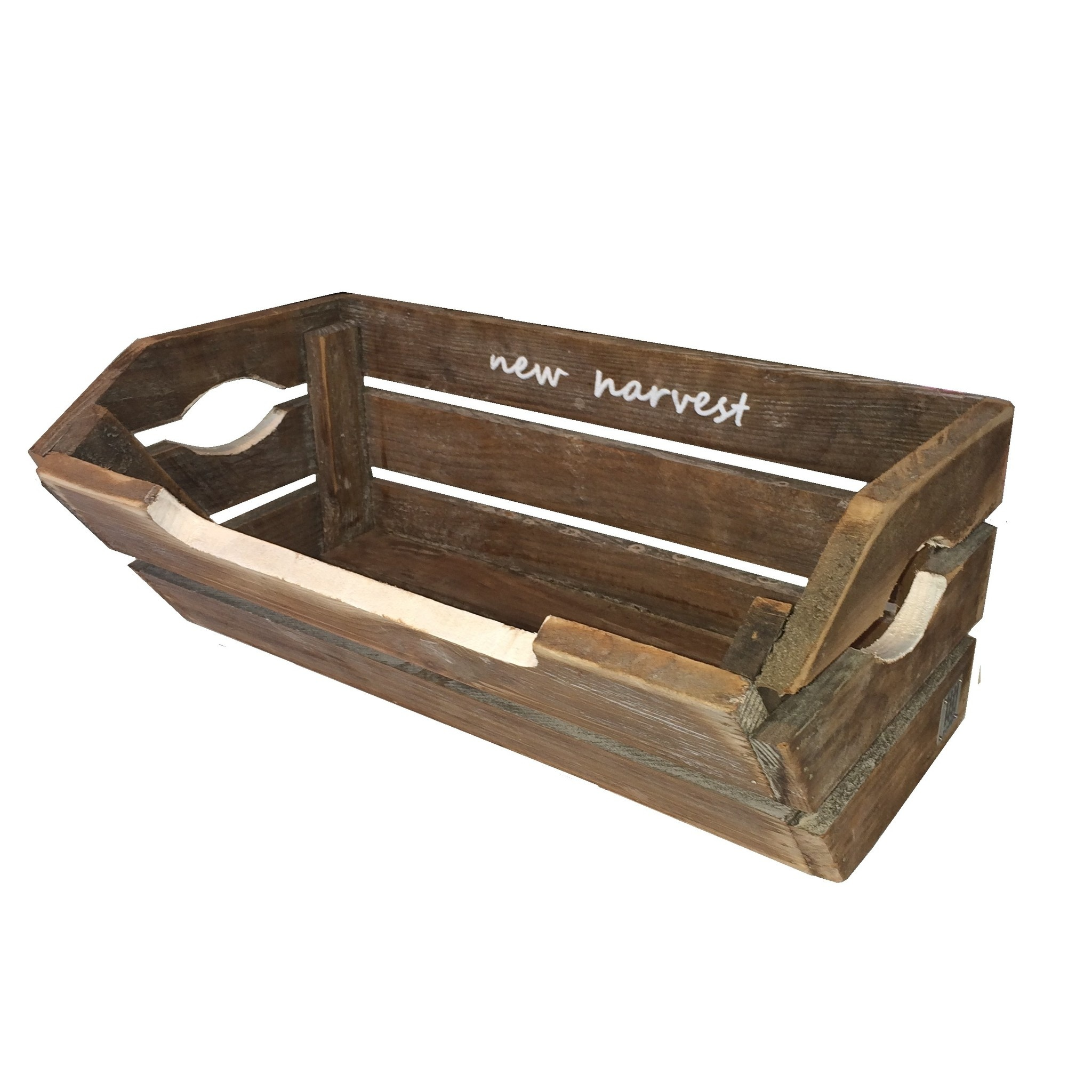 home deco brussels brown harvest crate T-4